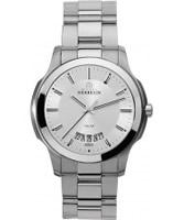 Buy Michel Herbelin Mens Silver Ambassador Watch online