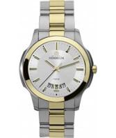 Buy Michel Herbelin Mens Ambassador Two Tone Bracelet Watch online