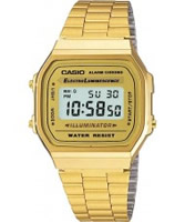 Buy Casio Classic Collection Gold Digital Watch online