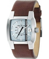 Buy Diesel Mens Blue Brown Watch online