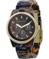 Buy Michael Kors Ladies Ritz Tortoise Watch online