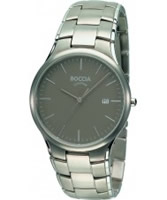 Buy Boccia Mens Titanium Gunmetal Watch online