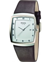 Buy Boccia Mens Titanium White Brown Watch online