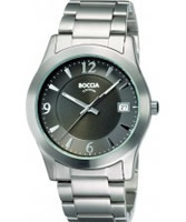 Buy Boccia Mens Titanium Grey Watch online
