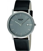 Buy Boccia Mens Titanium Grey Dial Watch online