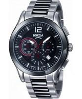 Buy Boccia Mens Titanium Chronograph Bracelet Watch online