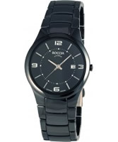 Buy Boccia Ladies Black Ceramic Bracelet Watch online