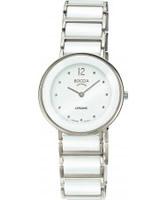 Buy Boccia Ladies Titanium Sapphire Crystal White Watch online
