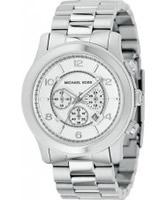 Buy Michael Kors Mens Runway Chronograph Steel Watch online