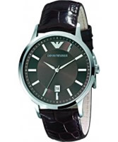 Buy Emporio Armani Mens Dark Brown Renato Watch online