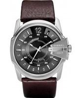 Buy Diesel Mens Goose Grey Brown Watch online