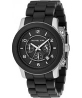 Buy Michael Kors Runway Chronograph Black Watch online