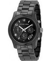 Buy Michael Kors Ladies Runway Ceramic Chronograph Watch online
