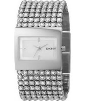 Buy DKNY Ladies Silver Steel Watch online