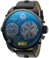 Buy Diesel Mens Big Daddy Chrono Blue Watch online