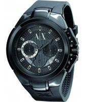 Buy Armani Exchange Mens All Black Sport Ranger Active Watch online