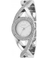 Buy DKNY Ladies Crystal Silver Watch online