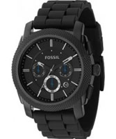 Buy Fossil Mens Machine Chronograph Black Watch online