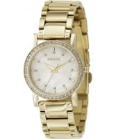 Buy DKNY Ladies Essentials and Glitz Gold Watch online
