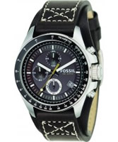 Buy Fossil Mens Brown Decker Chronograph Watch online