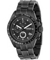 Buy Fossil Mens Black Decker Chronograph Watch online
