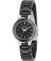 Buy DKNY Ladies Ceramics Black Watch online
