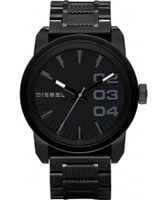Buy Diesel Mens Franchise Black Watch online