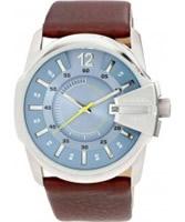 Buy Diesel Mens Goose Blue Brown Watch online