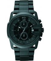 Buy Diesel Mens Goose Chronograph Black Watch online