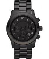 Buy Michael Kors Mens Runway Black Chronograph Watch online