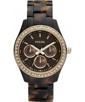 Buy Fossil Ladies Stella Tortoise Watch online