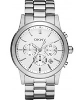 Buy DKNY Mens Chronograph Steel Watch online