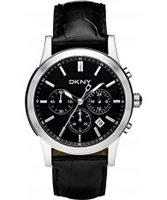 Buy DKNY Mens Chronograph Black Watch online