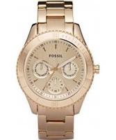 Buy Fossil Ladies Stella Multi Rose Gold Watch online