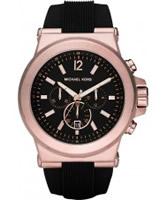 Buy Michael Kors Mens Jet Set Brown Chronograph Watch online