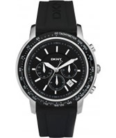 Buy DKNY Mens Sport Chronograph Black Watch online
