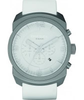 Buy Diesel Mens F-Stop Advanced All White Watch online
