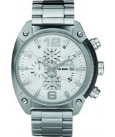 Buy Diesel Mens Advanced Chronograph Silver Watch online