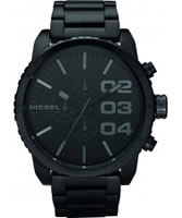 Buy Diesel Mens Franchise Chronograph Black Watch online