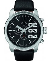 Buy Diesel Mens Advanced Black Watch online