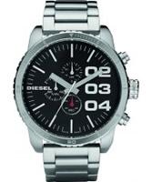 Buy Diesel Mens Advanced Black Steel Watch online