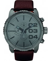 Buy Diesel Mens Advanced Chronograph Brown Watch online
