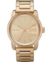 Buy Diesel Mens Franchise NSBB Gold Watch online