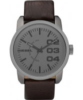 Buy Diesel Mens Franchise NSBB Grey Black Watch online