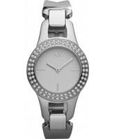 Buy Armani Exchange Ladies Silver Lilly Smart Watch online