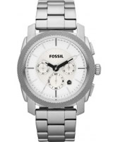 Buy Fossil Mens Machine Silver Watch online