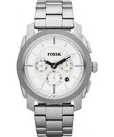 Buy Fossil Mens Machine Silver Watch online