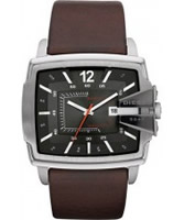 Buy Diesel Mens Goose Gunmetal Brown Watch online