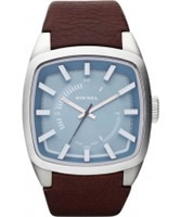 Buy Diesel Mens Blue Brown Watch online