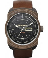 Buy Diesel Mens Black Brown Watch online